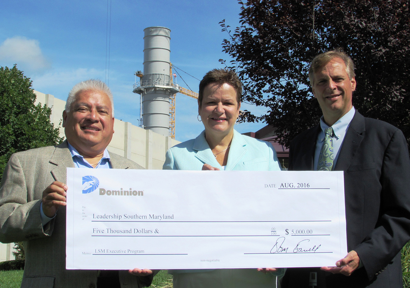 LSM Receives Grant from Dominion Cove Point LNG